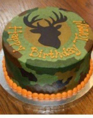 Birthday Cake Ideas Camouflage BirthdayCakes httpifttt2pwVdfk