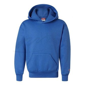 Champion Youth Double Dry Action Fleece Pullover Hood