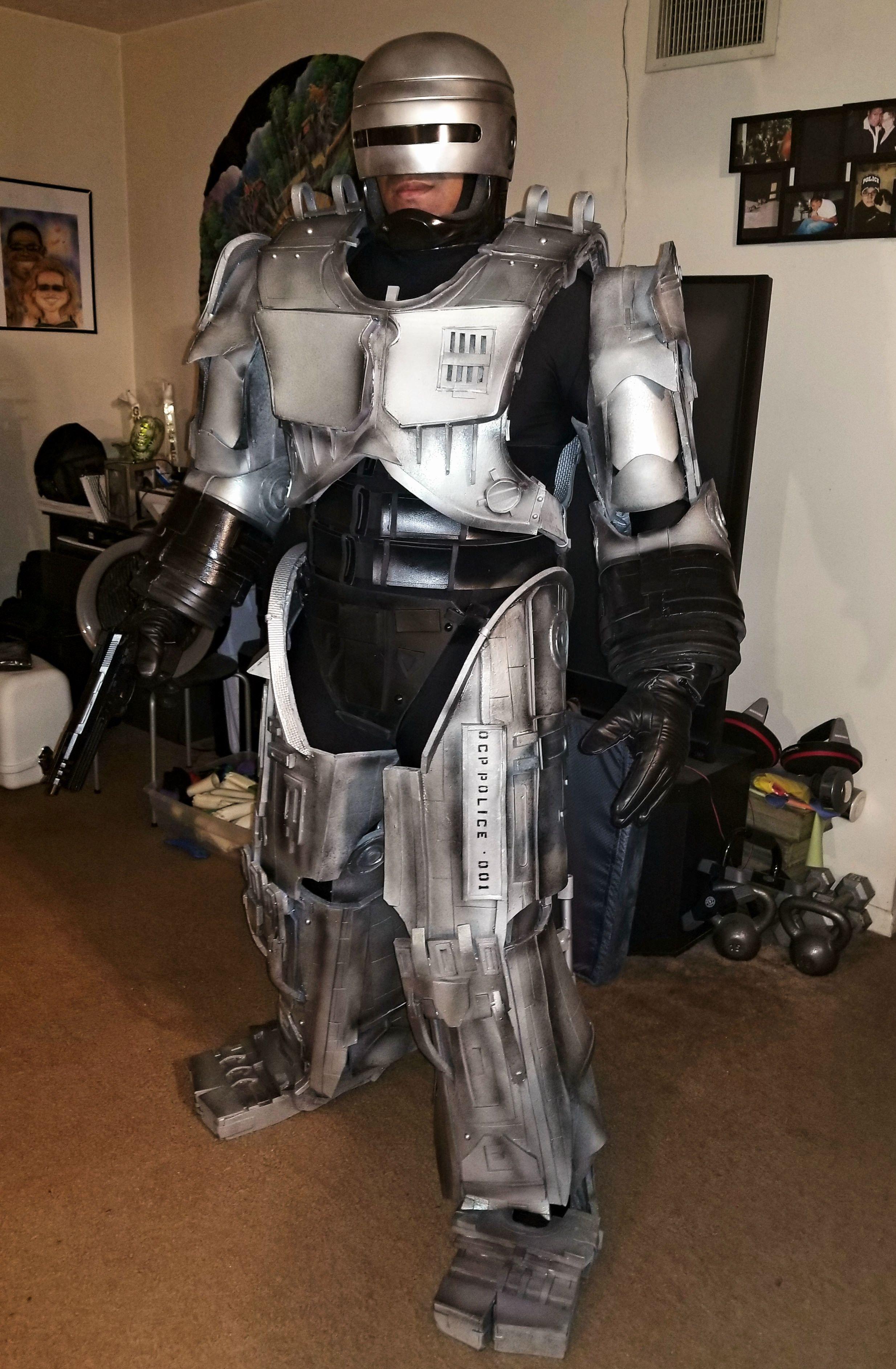 Diy Robocop Costume Wwwtopsimagescom