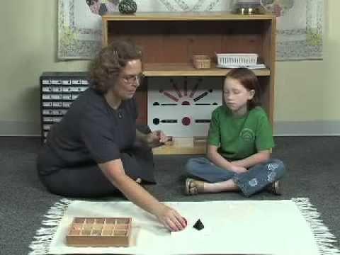 Part 1: Intro. Montessori Grammar Symbols - Verb - YouTube