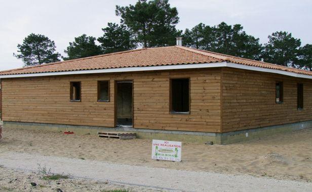 maison bois plain pied contemporaine - Recherche Google | Idées pour ...