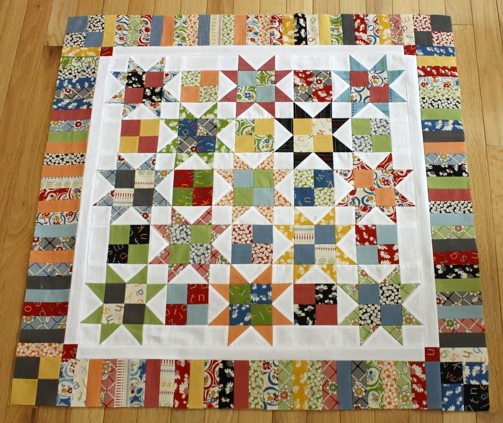 simple traditional star quilt - pattern by Carrie Nelson in her book ...