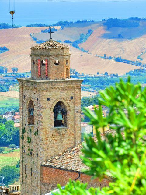 Fermo, Marche. Italy- Campanile con antenna -Photo by Gianni Del Bufalo (CC BY-NC-SA 2.0)