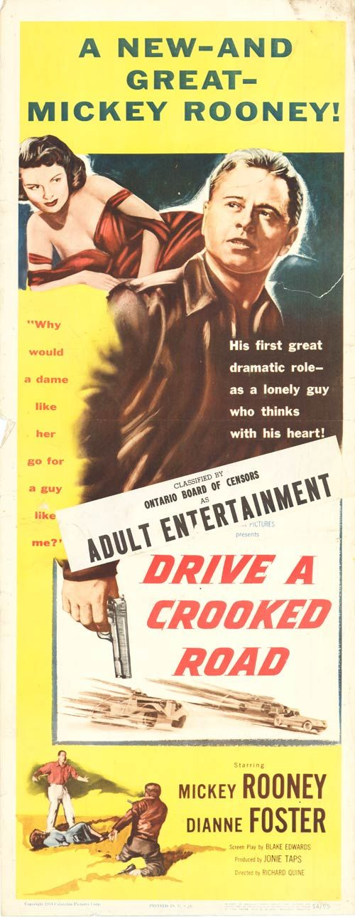 Watch Drive a Crooked Road Full-Movie Streaming