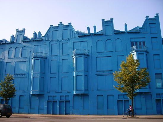 Blue House Rotterdam Amazing Ideas