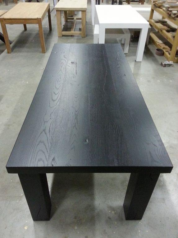 Afbeeldingsresultaat voor tafel zwart lakken - Lak en Zwart