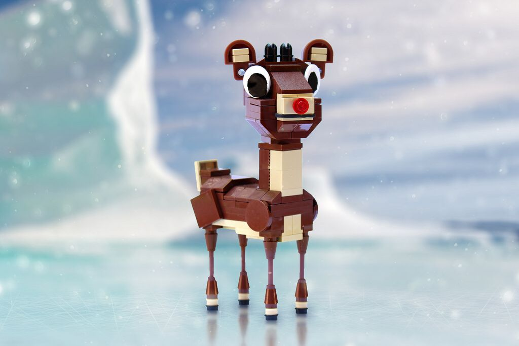 Rudolph the Red Nosed Reindeer | Lego Animals & People | Pinterest ...