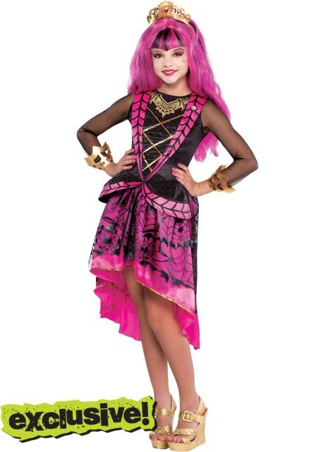 c5ce4084 Girls Draculaura Costume Supreme - Monster High - Party City ...