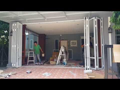 ประต เล อนพ บเก บด านข าง Youtube บ าน แปลนบ าน กระจกห องน ำ