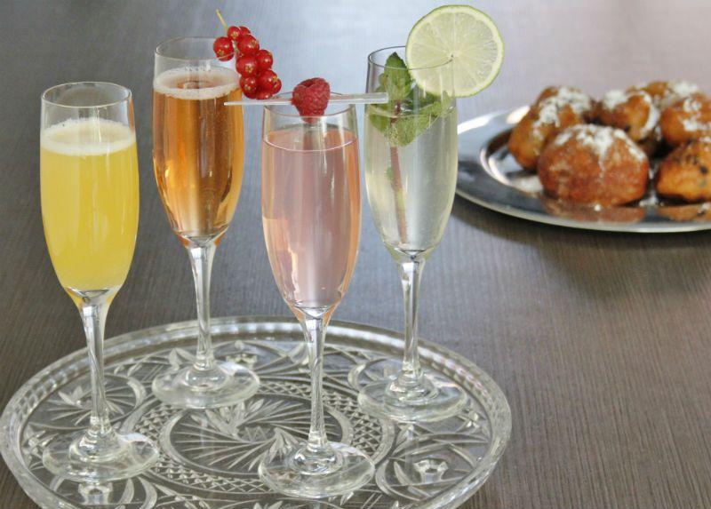4x recepten voor overheerlijke champagnecocktails