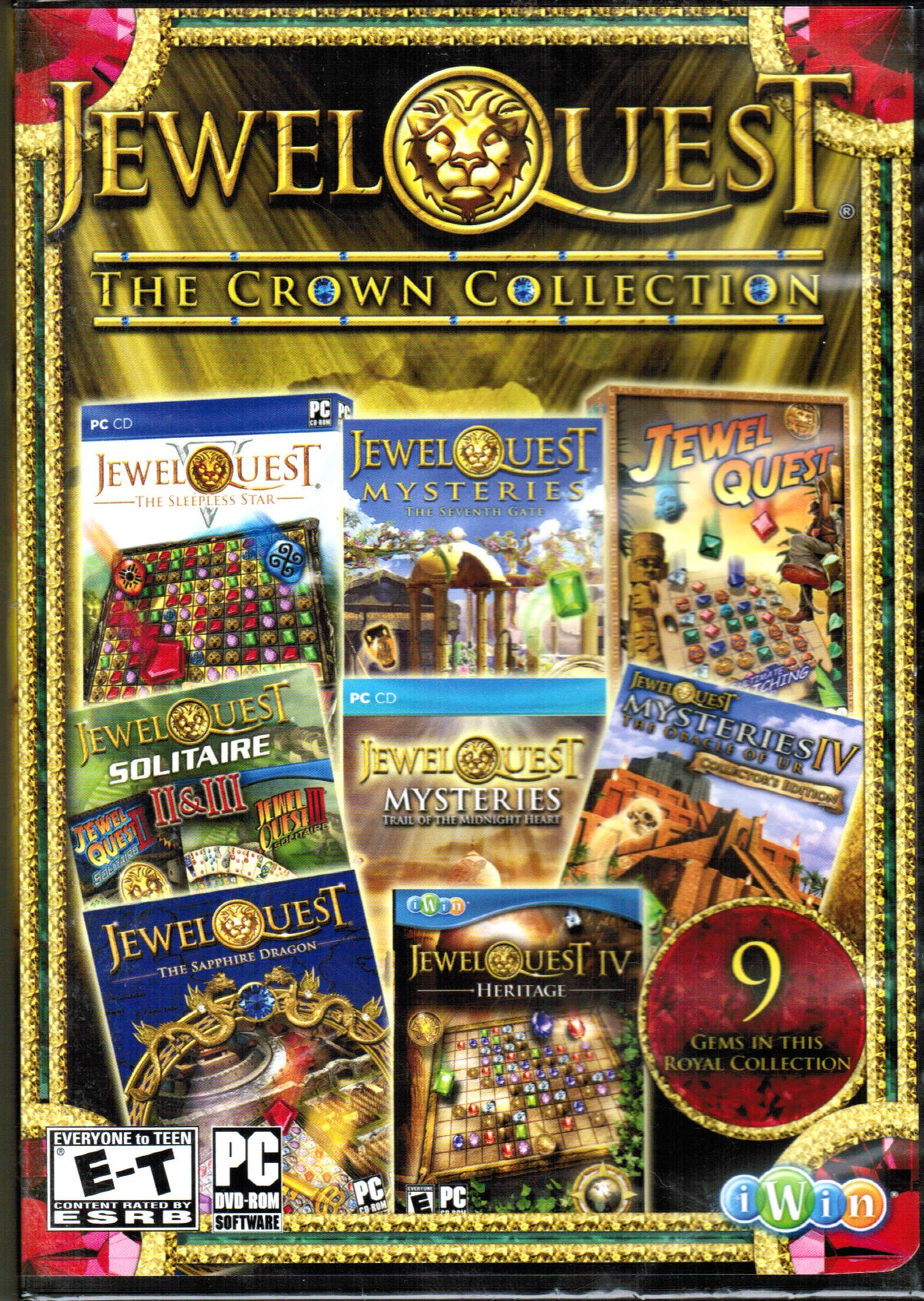 Jewel Quest The Crown Collection (I Win) Gaming pc