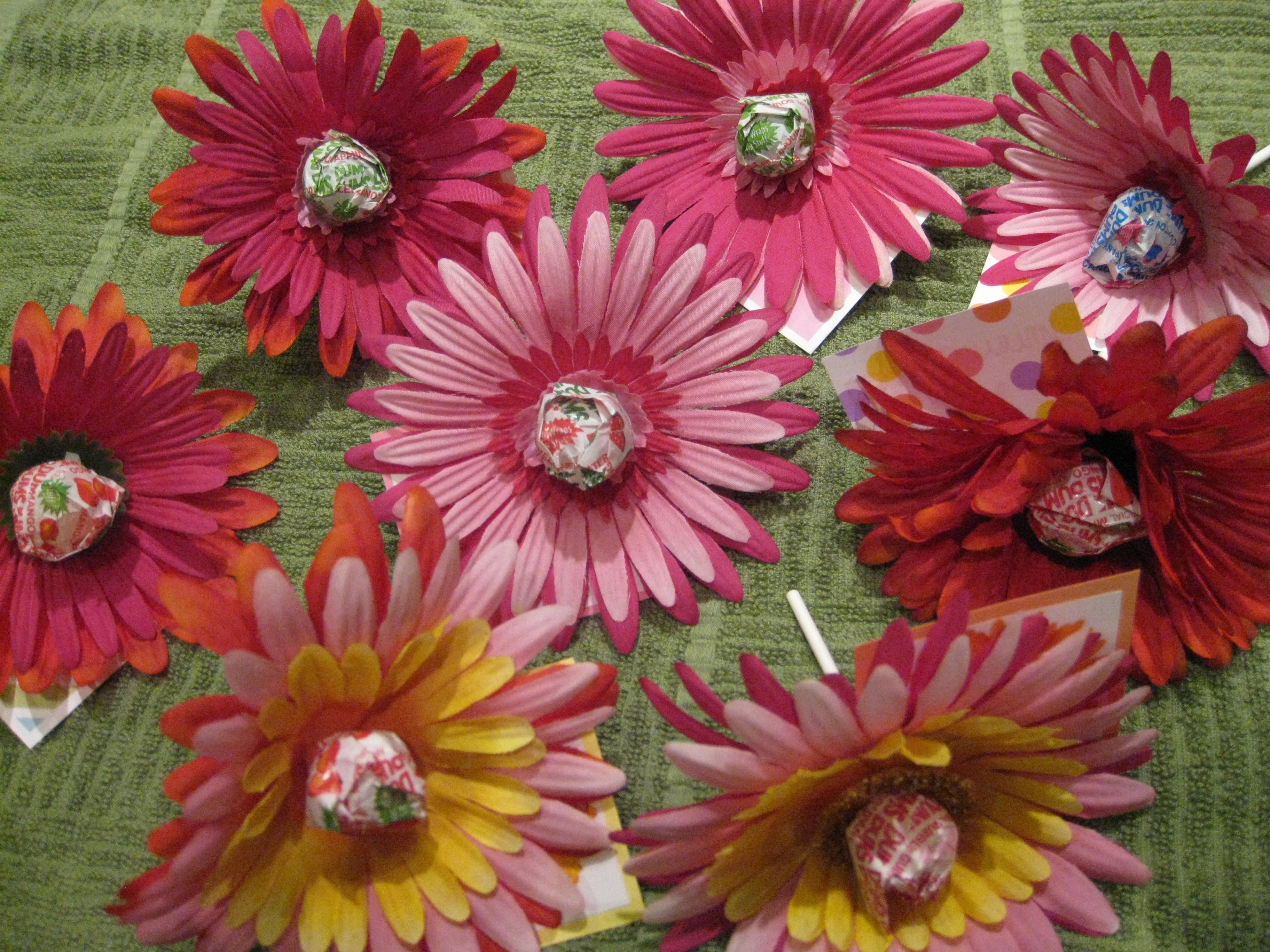 Easy Lolipop Flower Sweets Great For Kid S Valentine S Day Gift