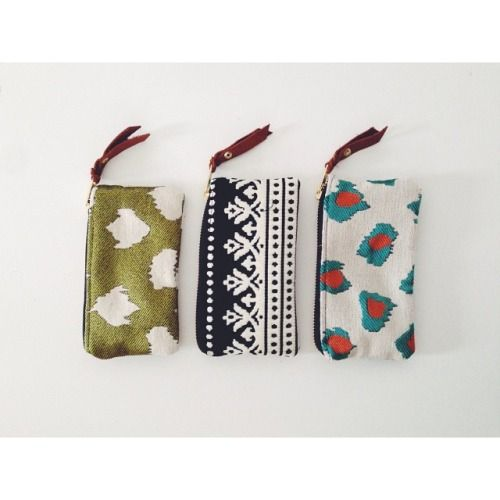Coin purses by anne b designs