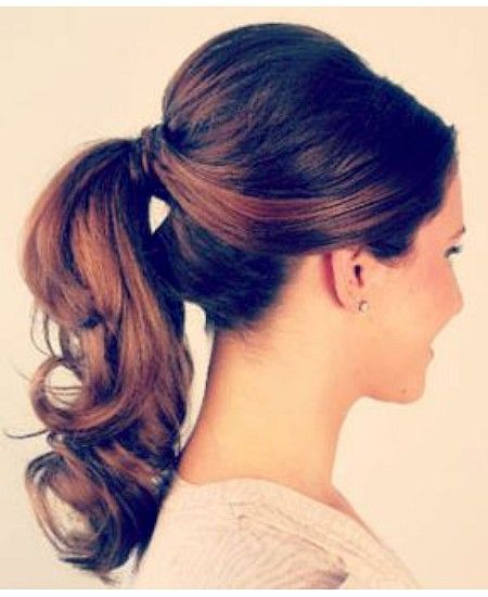 Tressed For Success 7 Of The Best First Interview Hairstyle Ideas To Help You Nail The Job Hair Styles Interview Hairstyles Ponytail Hairstyles Easy