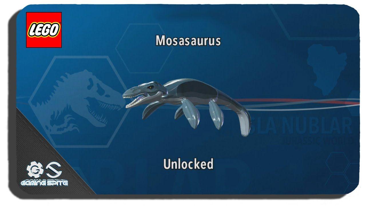 Lego Jurassic World How To Unlock Mosasaurus Dinosaur Character Location Lego Jurassic World Jurassic World Lego