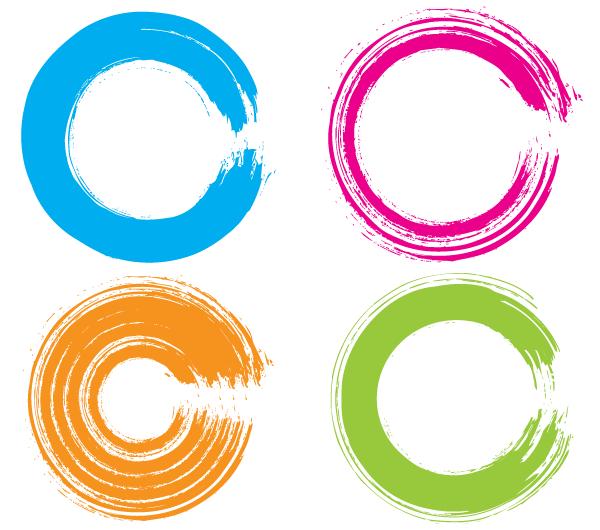 Free Vector Grunge Circle Illustrator Vector Free Vector Free Vector Art
