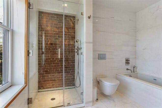 Won T You Be My Neighbor Brick Bathroom Industrial Style Kitchen Gorgeous Bathroom