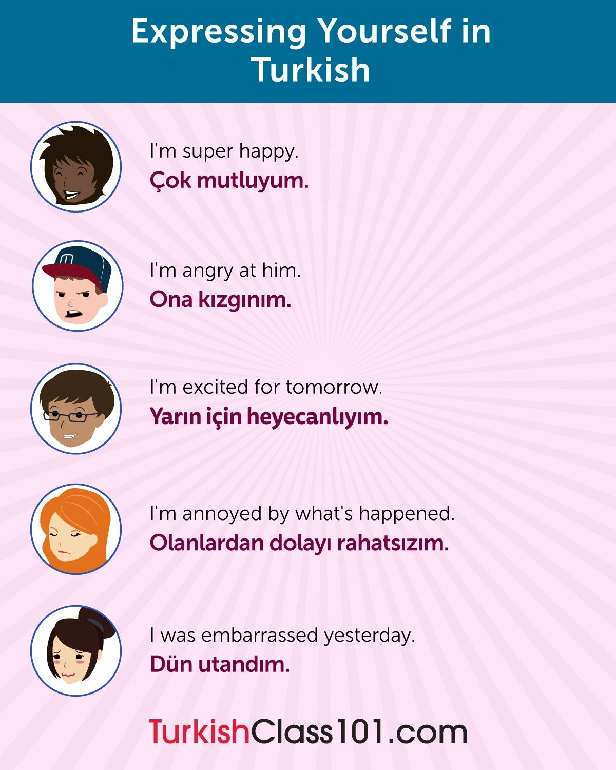 Expressing Yourself In Turkish Learn Turkish