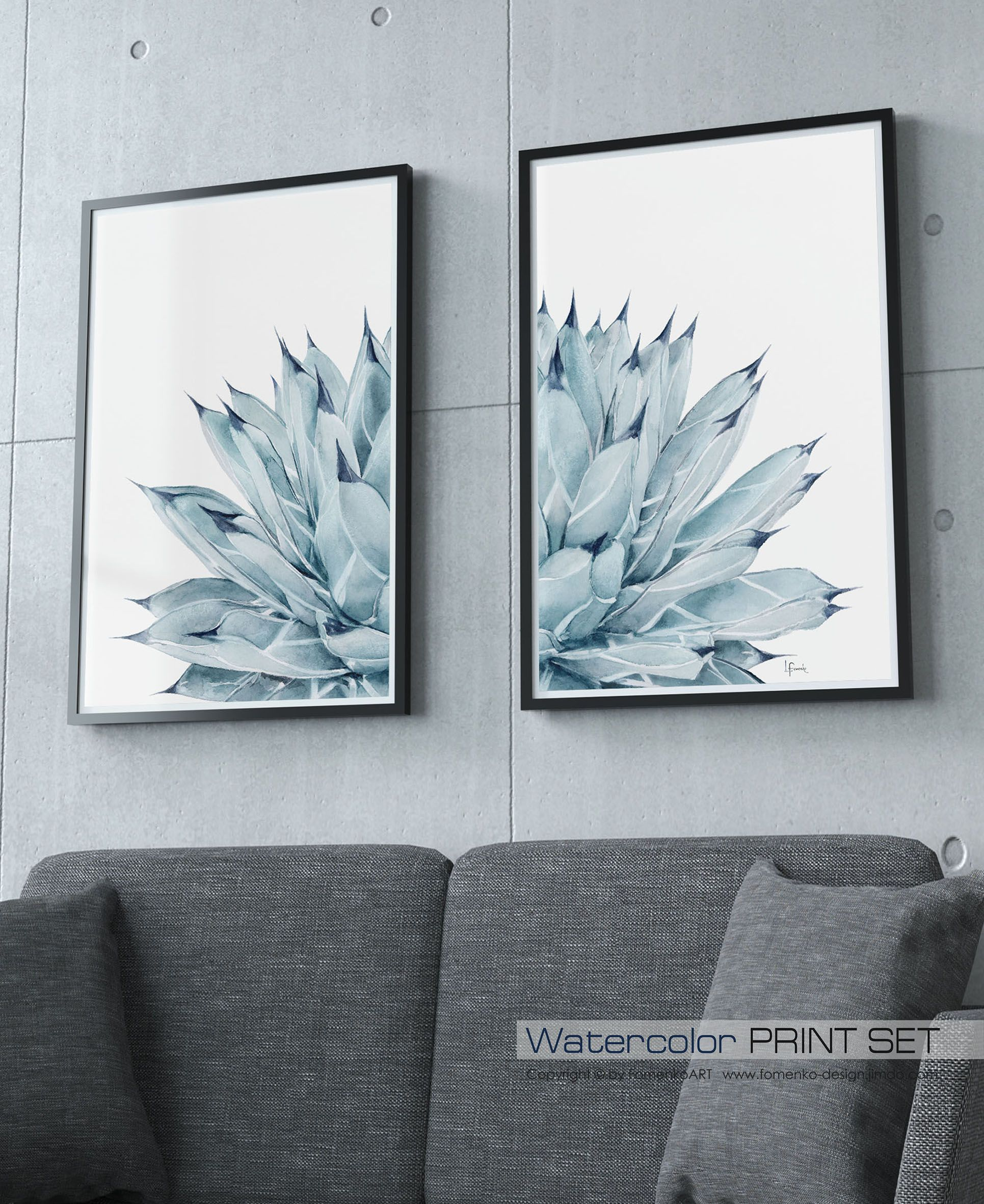Large wall art prints blue flowers print wall decor bedroom wall