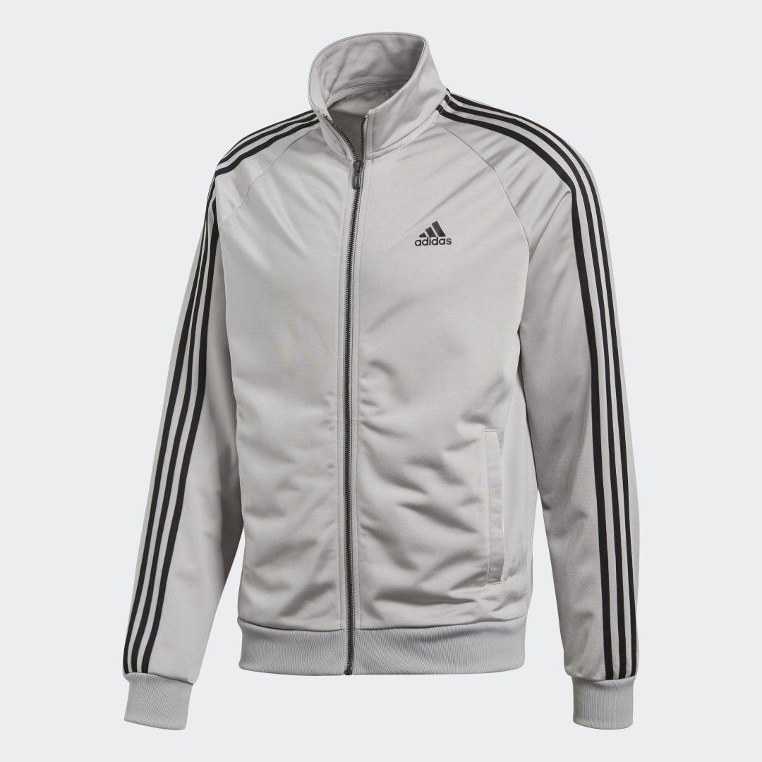 Essentials Track Jacket Grey Mens Adidas Jacket Mens Mens Jackets Adidas Jacket [ 1080 x 1080 Pixel ]