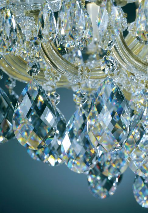 Crystal Chandeliers Maria Theresa Style Crystal Chandeliers - Chandelier crystals blue