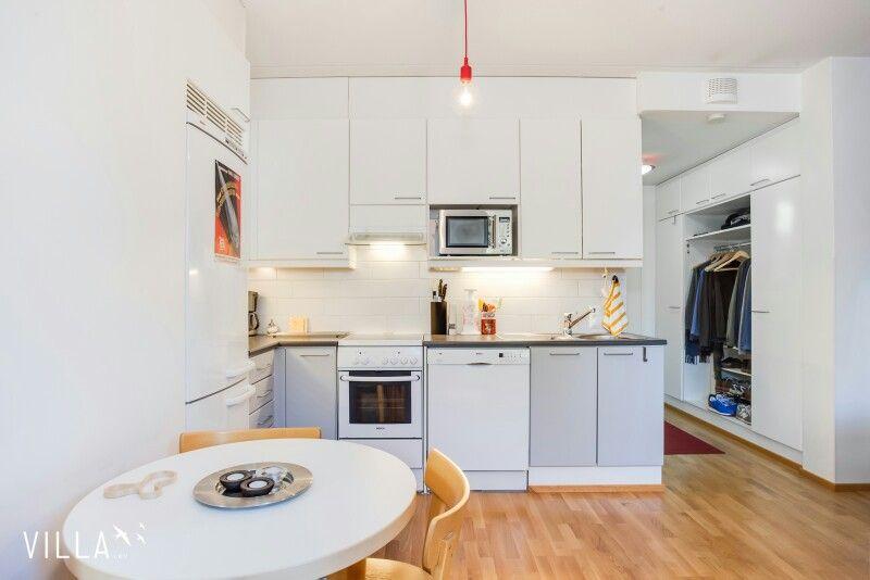 Kompakti ja tyylikäs keittiö