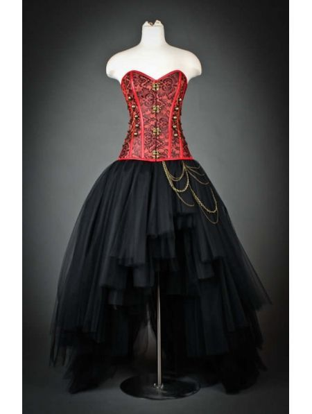 1000  images about Red and black dresses on Pinterest | Gothic ...