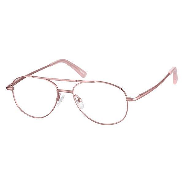 Rose Gold Aviator Glasses #419019 | Zenni Optical Eyeglasses ...