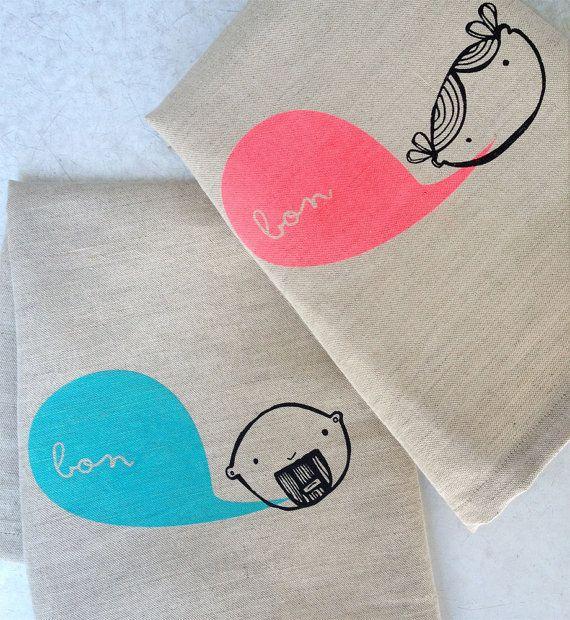 Tea Towel Design by Shannon Adolph, via Behance
