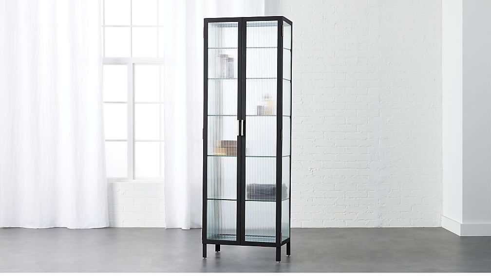 Odean Large Glass Cabinet 849 Bathroom Storage Glass Cabinet