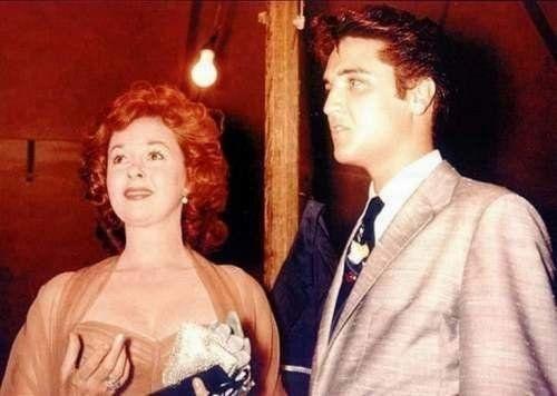 Susan Hayward & Elvis Presley    My favorite actress and singer of all times.