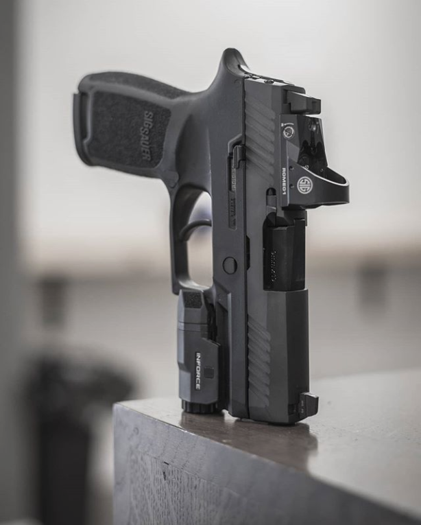 "tacticalsquad: ""Sig Sauer P320 RX with Inforce APLc at"