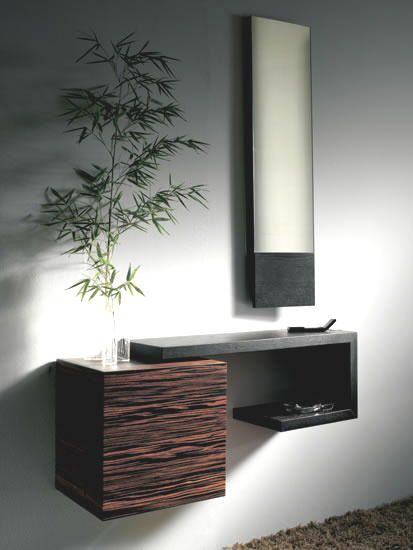 Pin de carlo guerrero en muebles madera Pinterest Recibidor - muebles en madera modernos