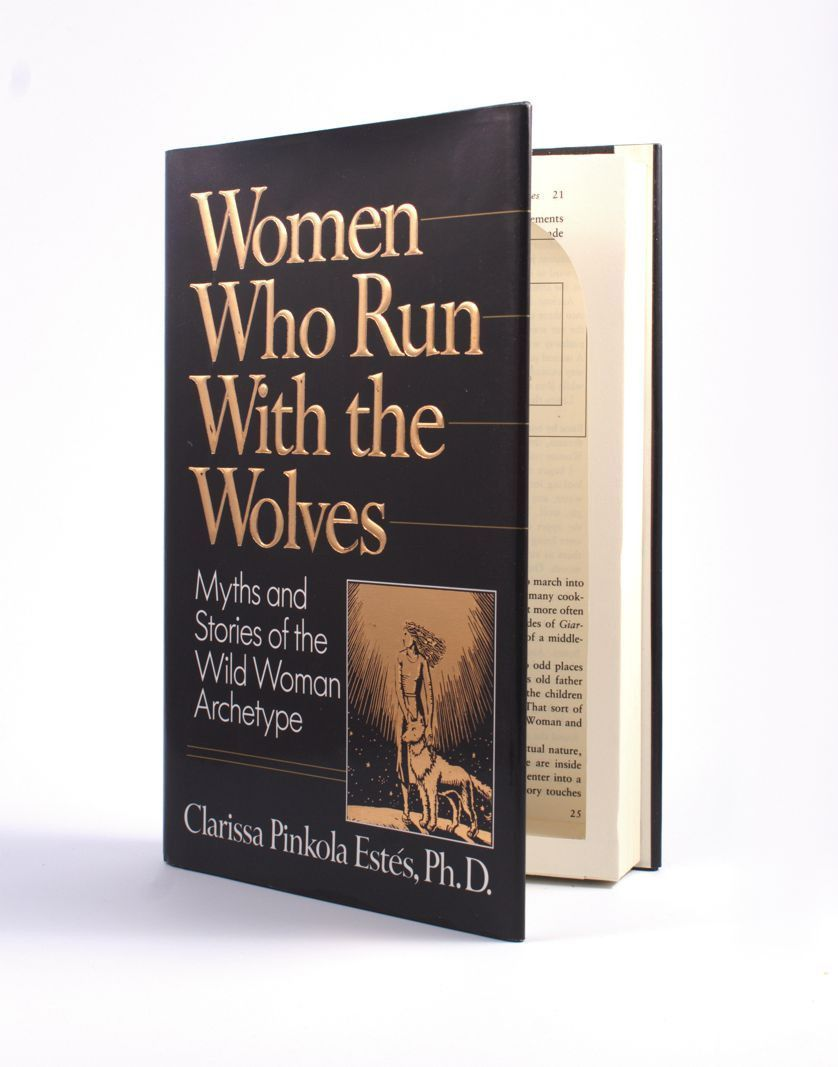Women Who Run with the Wolves - Medium Hollow Book