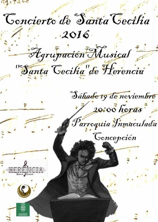 Concierto de Santa Cecilia 2016 en la iglesia parroquial - https://herencia.net/2016-11-18-concierto-de-santa-cecilia-2016-en-herencia/?utm_source=PN&utm_medium=herencianet+pinterest&utm_campaign=SNAP%2BConcierto+de+Santa+Cecilia+2016+en+la+iglesia+parroquial