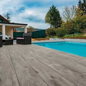 Projects Portfolio Pool Pavers Outdoor Wood Tiles Backyard Pool Designs