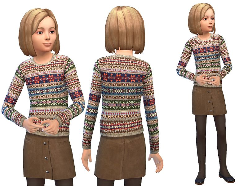 STATUS untested - TSR / SimDetails' Fair Isle and Suede   The sims ...