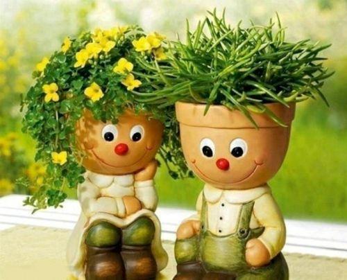 Gartendekoration selber machen - gartendekoration selber machen - lustige bilder selber machen