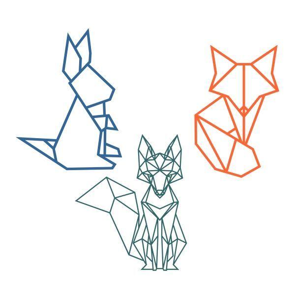Image Result For Geometric Animal Art