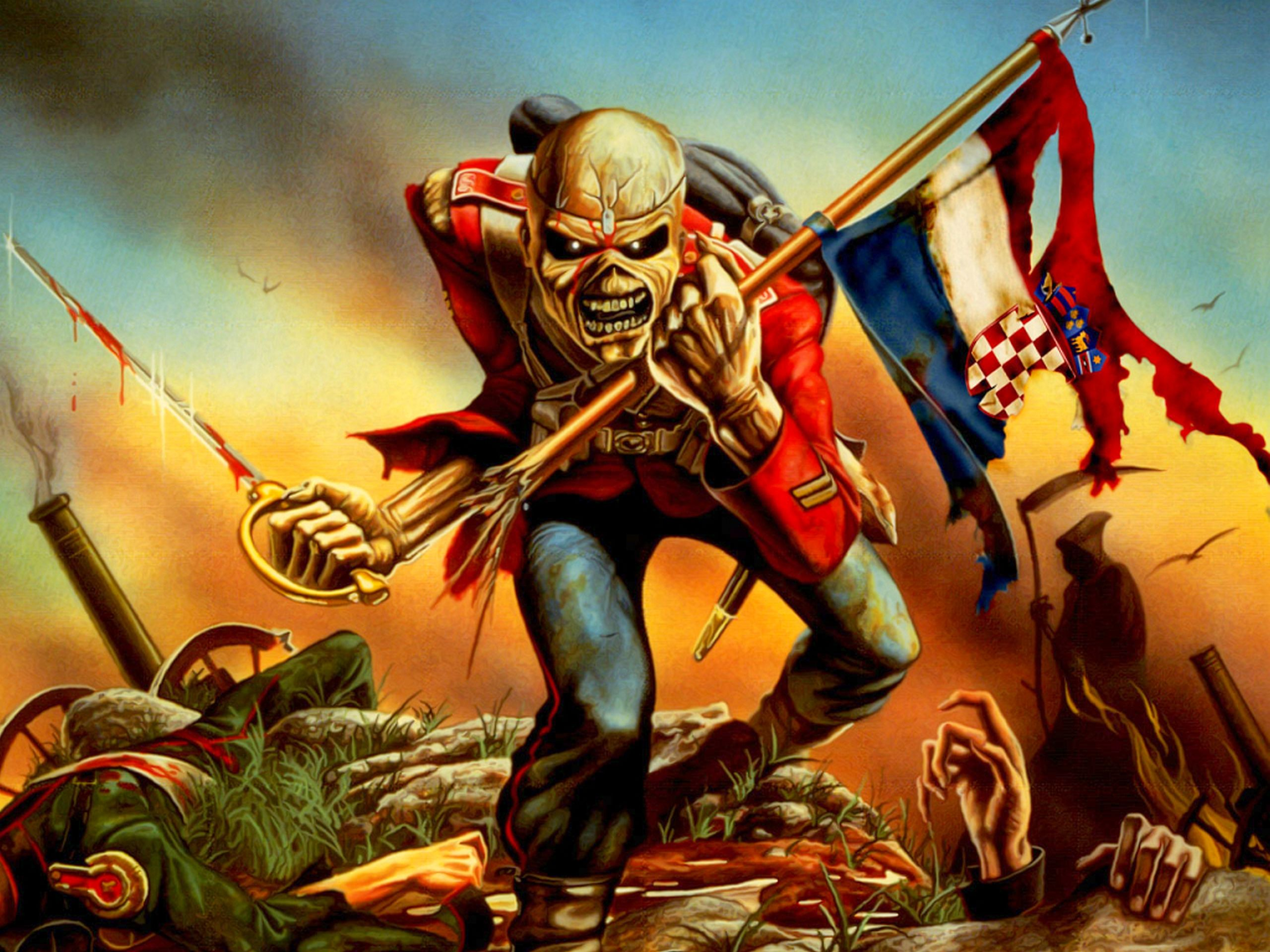 Iron Maiden The Trooper Wallpaper Full Hd Is Cool Wallpapers Iron Maiden Heavy Metal New Wave