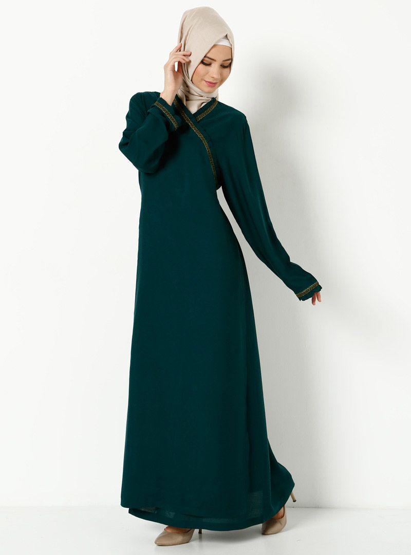 905be2ec8bc Prière Robe - Vert - Robe de Prière - Modanisa