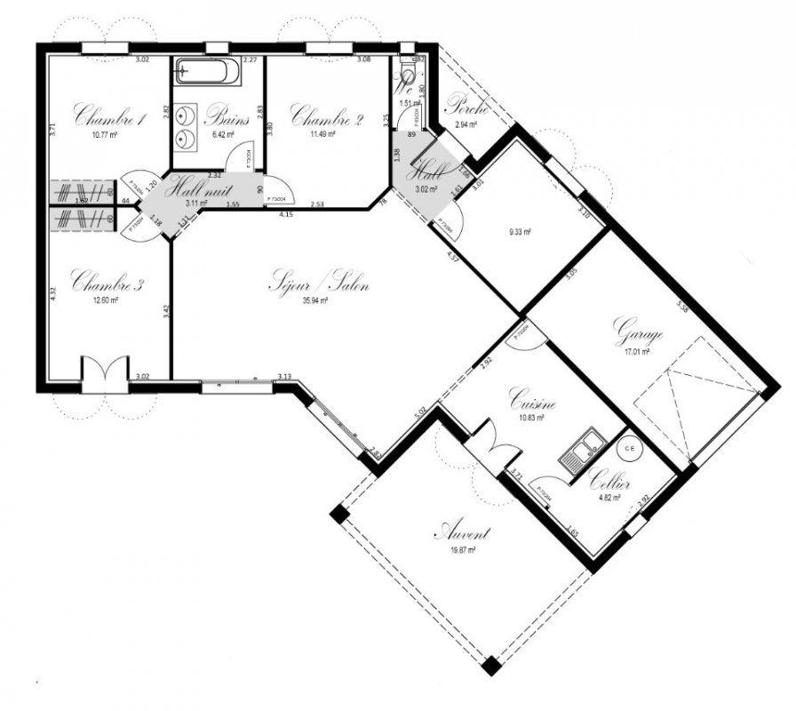 Plan achat maison neuve à construire - OC Résidences Parfum du0027été - logiciel pour faire plan de maison