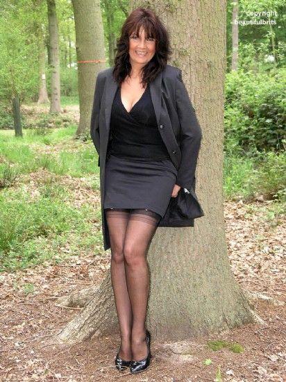 In stockings matures Stockings: 13531