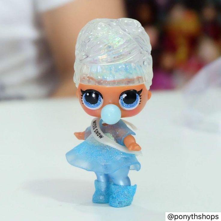 LOL Surprise New Real-Original Winter Disco Glitter Globe by MGA