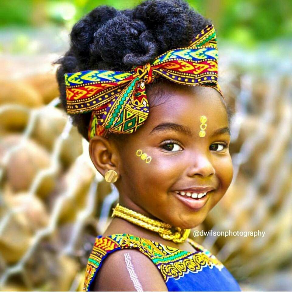 african princess kids fashion