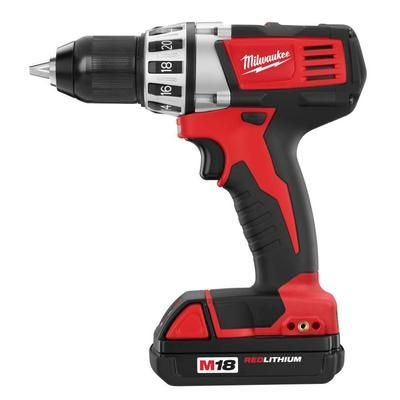 drill-milwaukee - milwaukee m18 cordless compact drill driver - 2601 ...