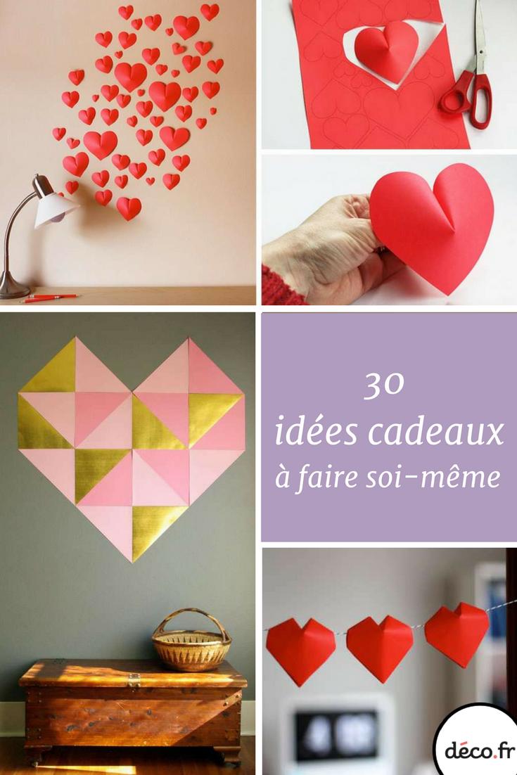 30 id es de cadeaux fabriquer pour la saint valentin. Black Bedroom Furniture Sets. Home Design Ideas