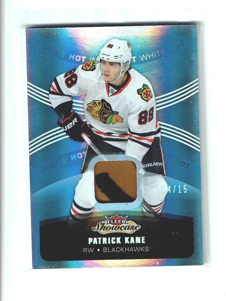 14 16 Fleer Patrick Kane Piece Of Indian Patch Card Chicago Blackhawks Chicagoblackhawks Patrick Kane Blackhawks Chicago Blackhawks
