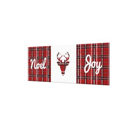 Plaid Christmas 3 Piece Wall Art Zazzle Com 3 Piece Wall Art Plaid Christmas Wall Art