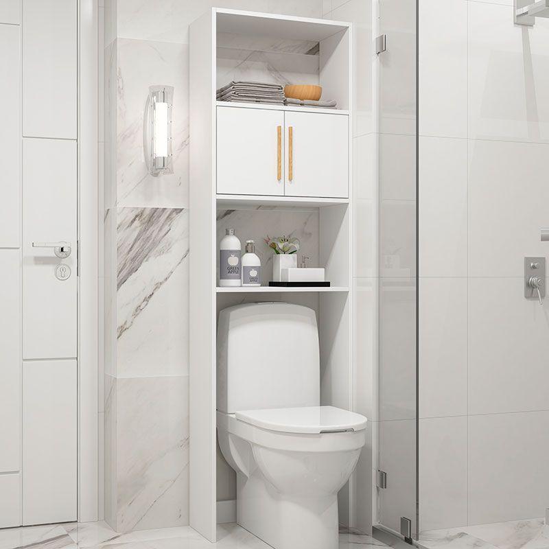 Armário Para Banheiro Com 2 Portas E 3 Prateleiras Bbn 09